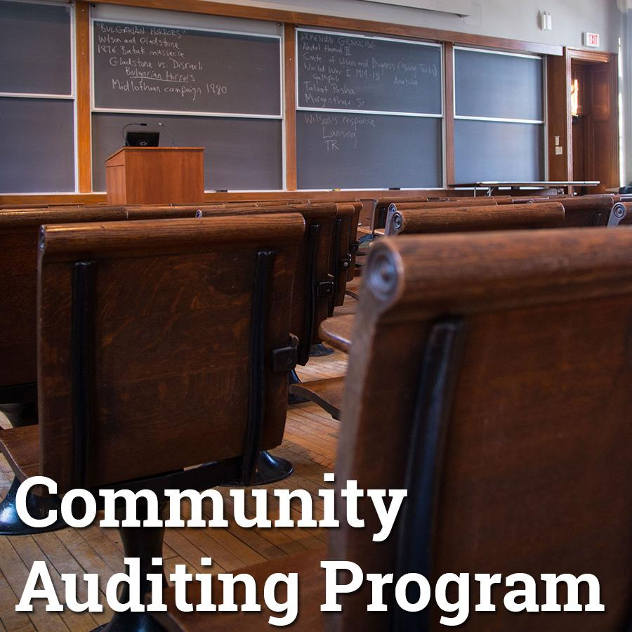 Community Auditing Program