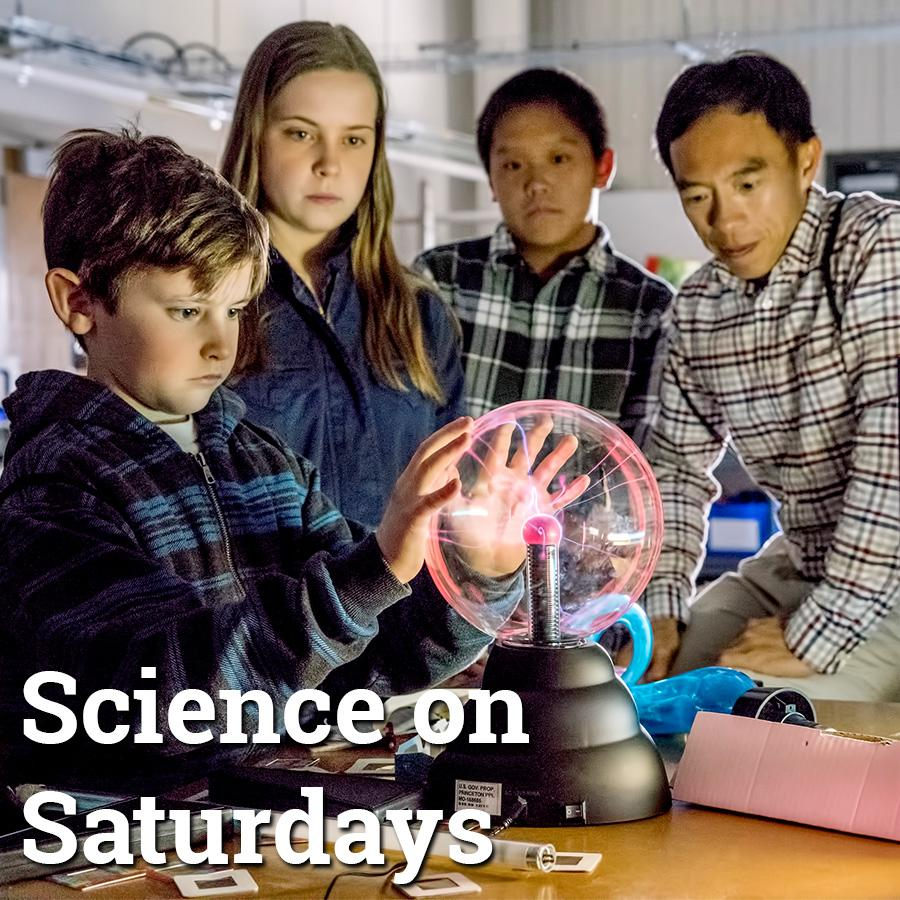 Saturday science lectures at Princeton Plasma Physics Lab