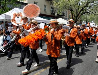 Princeton University Band performs at Communiversity