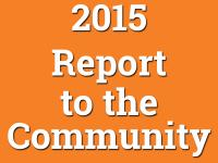 2015 Report to the Community
